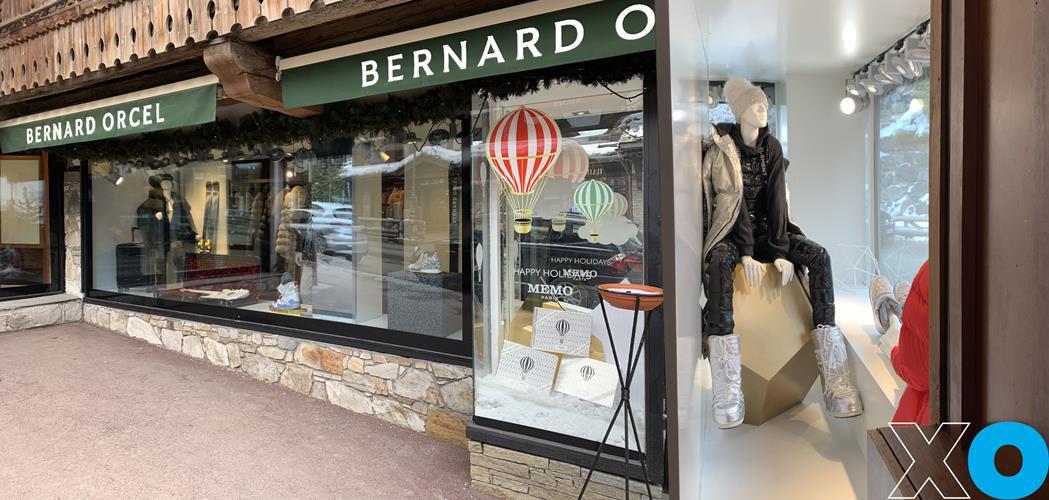 8. Rénovation des vitrines de la boutique Bernard Orcel