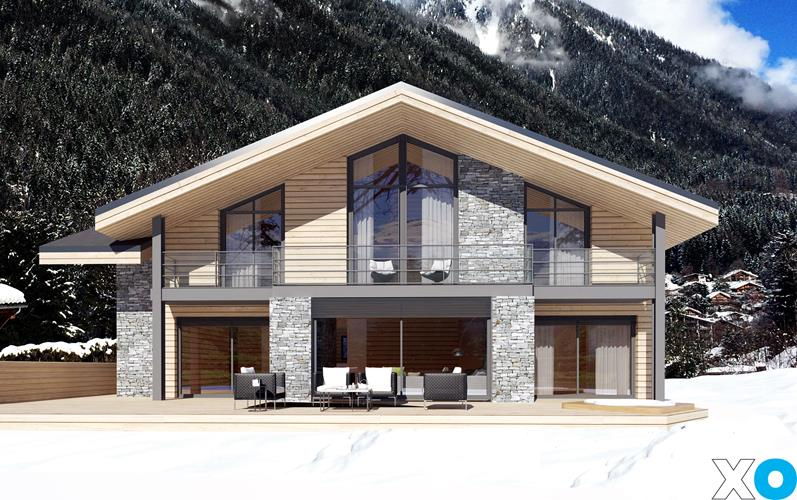 5. Construction of 2 private chalets -